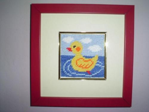 """Obrazek do dzieciecego pokoju-""""Kaczuszka"""" #dziecko #miniaturki #obrazki #pokoj #zabawki"""