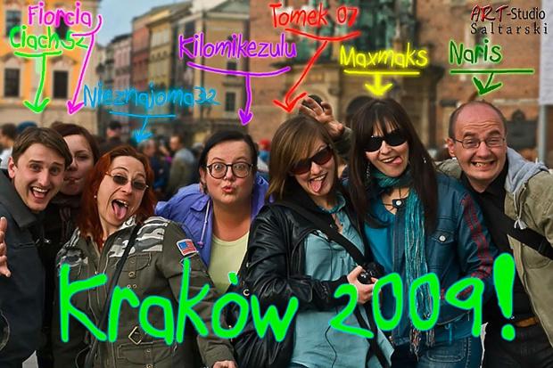 Stara załoga Fotosika. Nieoficjalne spotkanie w Krakowie...Pozdrawiam wszystkich serdecznie! #Naris #ZamiSwoi