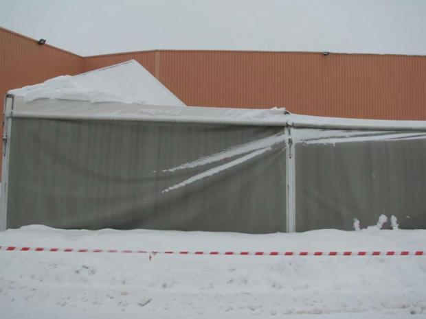 namiot 1 #snieg
