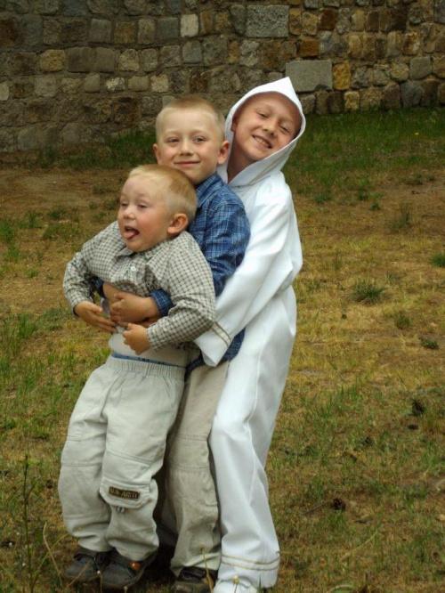 moi bratankowie:) #dziecko #zabawa #uśmiech