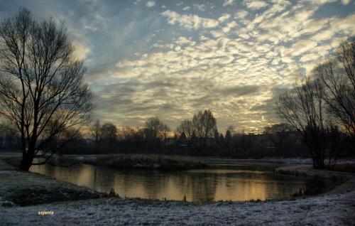 Pierwszy wschód słońca 2012 roku #poranek #styczeń #WschódSłońca