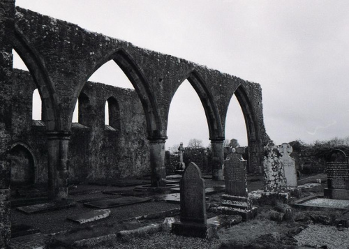 Claregalway #Claregalway #Galway #Irlandia #Klasztor #Ruiny