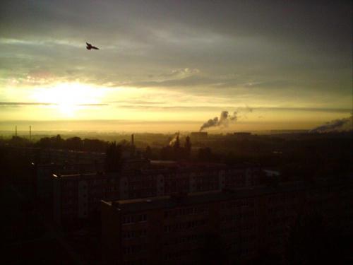 Niebrów pod koniec dnia #TomaszówMazowiecki