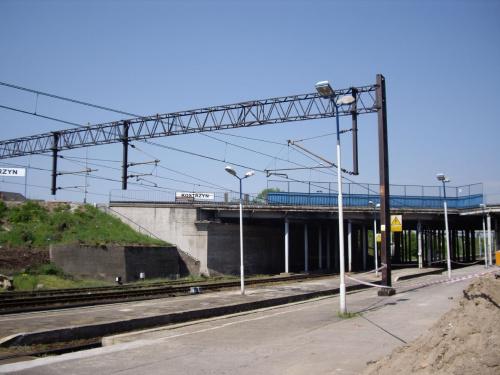 Dwupoziomowy dworzec w Kostrzynie. #Kostrzyn