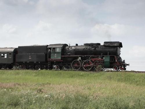 parowóz OL 49, trasa Wolsztyn - Poznań, Szreniawa, 05.07.2009 #kolej #kolejnictwo #lokomotywa #lokomotywy #Ol49 #parowozy #parowóz #PKP #pociąg #PojazdySzynowe #Szreniawa #Train #Eisenbahn #Zug #Dampflok #Dampfeisenbahn