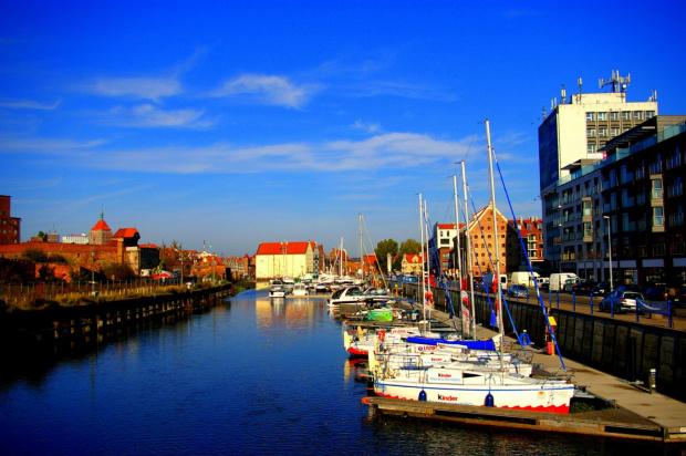 Marina #Gdańsk #miasto #motława #StareMiasto