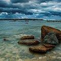 maly przyplyw #chmury #ocean #poranek #przyroda #woda #WschódSłońca