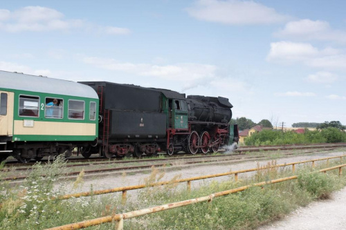 parowóz OL 49, trasa Wolsztyn - Poznań, Szreniawa, 18.07.2009 #kolej #kolejnictwo #lokomotywa #lokomotywy #Ol49 #parowozy #parowóz #PKP #pociąg #PojazdySzynowe #Szreniawa #Train #Eisenbahn #Zug #Dampflok #Dampfeisenbahn