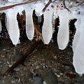 Lodowe wymiona #lód #nacieki #sople #zima