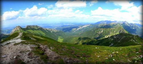 Widok z Kopy Kondratowej ( Tatry) #giewont #góry #tatry #zakopane