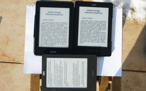 Czytniki e-booków #PorównanieCzytników