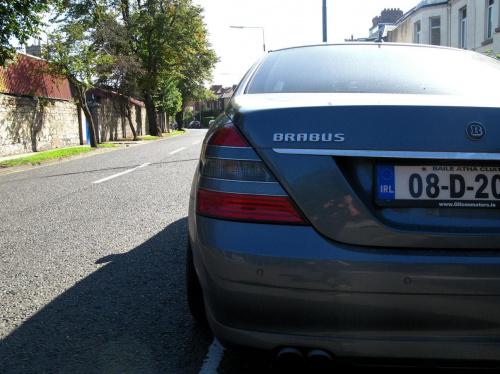mercedes s brabus #auto #fura #MercedesSBrabus #samochód #car #photo #image