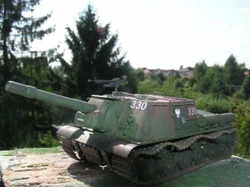 Model działa SU-152 wykonał Pan Piotr Najwer z Łodzi. #Militaria #Modelarstwo