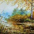 olej na płótnie #garncarek #aleksander #obraz #obrazy #malarstwo #pejzaż #artdeko #prezent #impresja #sztuka