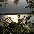 zachód słońca nad jeziorem Mamry #ZachodySłońca