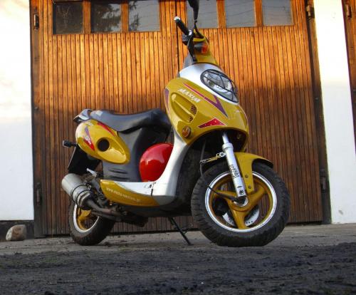 #skuter #wiosna #yamasaki #kingway #KowalewoOpactwo #Sezon2010