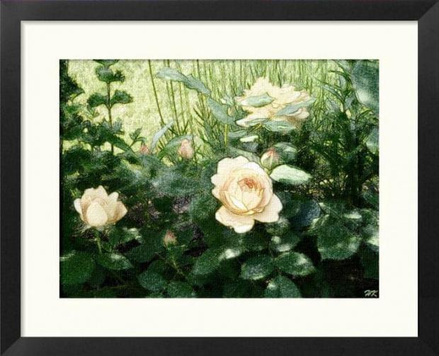 Kilka namalowanych...o każdej porze roku piękne #obrazy #malowane #MojePrace #róże