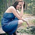 Tak nie miało być... #kobieta #dziewczyna #portret #las #bunkier #passiv #airking #nikon