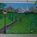 Przedszkole - Kraina Narnii #przedszkole #narnia #dzieci #malowidło #ścienne #bajkowe #kraina