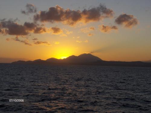 Wschód słońca na Morzu Kreteńskim