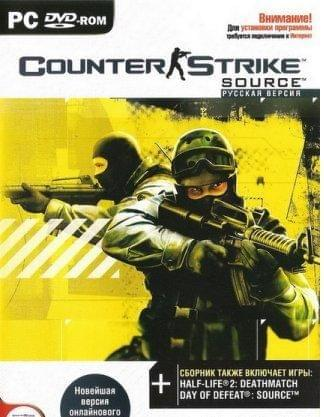 Counter-Strike: Source v.1.0.0.44.4274 (2010/ENG/RePack by R.G. ReCoding)