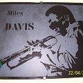 #grawerowanie #szkło #miles #davis #ręczne