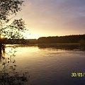 Po ostatnim deszczu powodzi 2010' #Warta #rzeka #powódż #zmierzch #ZachódSłońca
