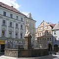 Fontanna Neptuna na Libereckim rynku #Czechy #Liberec #fontanny