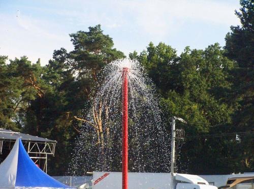 Woodstock 2010. #woodstock #grzybek #woda #las #niebo