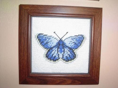 Motyl 3. #hafty