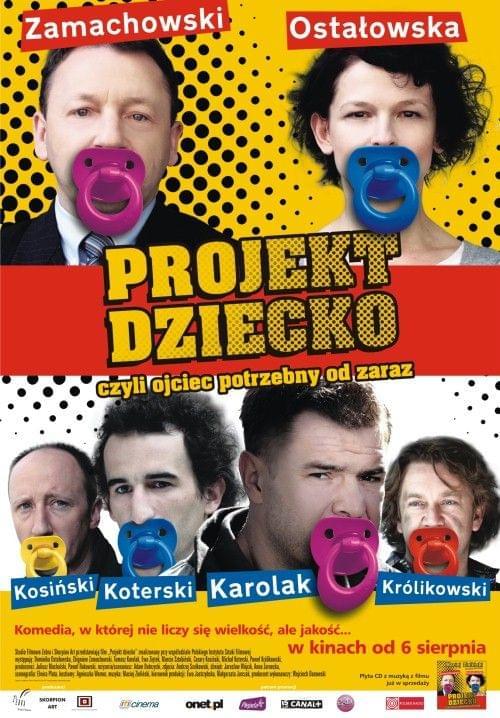 Projekt dziecko, czyli ojciec potrzebny od zaraz (2010) PL.DVDRiP.XviD-FiRMA/ FILM POLSKI