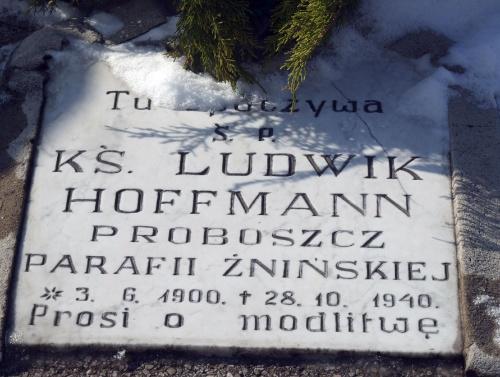 Księża cmentarz Żnin
