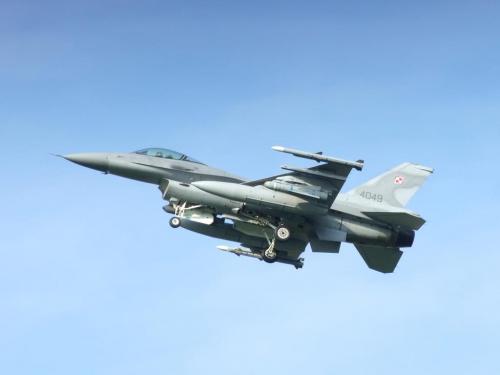 F-16 C, Poznań - Krzesiny, EPKS, 02.09.2008 #Poznań #Krzesiny #EPKS #samolot #samoloty