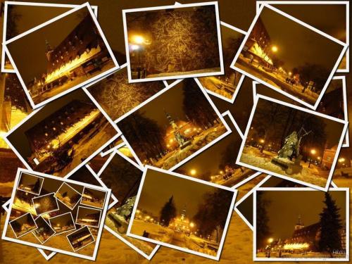 Gdańsk w wieczorowej szacie... #Gdańsk #miasto #zabytki #wieczór #światła