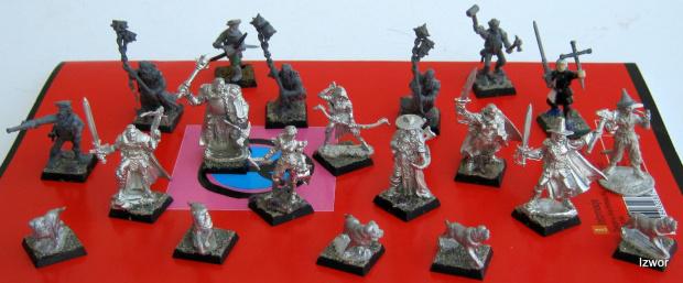 Banda Which Hunters #figurki #mordheim #warheim #which #hunters