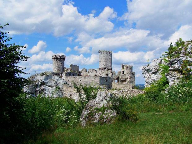 ogrodzieniec #zamki #ruiny #architektura #ficiol007