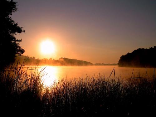 Zagórze Lubiewskie- aby zrobić to zdjęcie wstałem o 4.30 #jezioro #lubuskie #niebo #pojezierze #ranek #rano #słońca #słońce #wakacje #wschód #lato