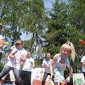 Foto: R. Kaczmarek - Sokolniki Wielkie 2011; festyn rodzinny o nazwie -U św. Urszuli ;;; występ dzieci szkolnych. #GminaKaźmierz #PowiatSzamotulski #religia #SokolnikiWielkie #wieś #świątynie #wiara #ParafiaKaźmierz #UrszulankiSJK #kaplice